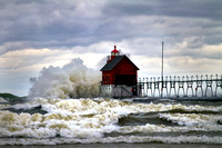 """The Rage of Mother Nature"" Grand Haven _0305"